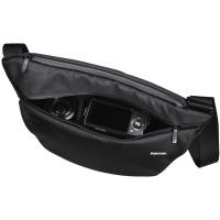 Hama Kamera-Schultertasche | Citytour 130 | Für eine kompakte Systemkamera | inkl. Tabletfach | Schwarz
