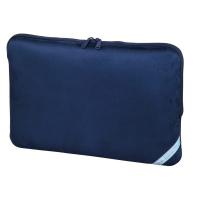 Hama Velour Notebook-Sleeve bis 44 cm 17,3 Zoll 101214 indigoblau