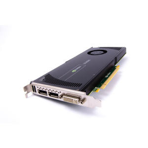 NVIDIA Quadro 4000 - 2 GB - GDDR5 (2x DP, 1 x DVI)