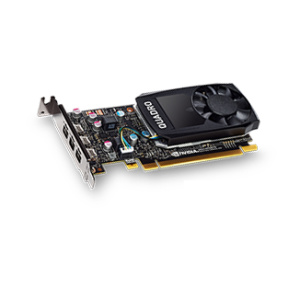 NVIDIA Quadro P400 - 2GB - GDDR5 (3 x mini DP)