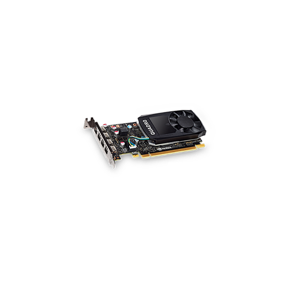 NVIDIA Quadro P600 - 2GB - GDDR5 (4 x mini DP)
