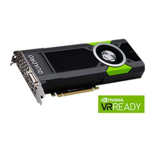 NVIDIA Quadro P5000 - 16GB - GDDR5X (4 x DP)