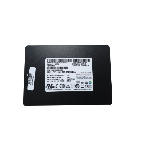 Samsung SSD | 128GB | MZ-7LN1280 | SATA 6.0 Gbps |  2,5 Solid State Drive