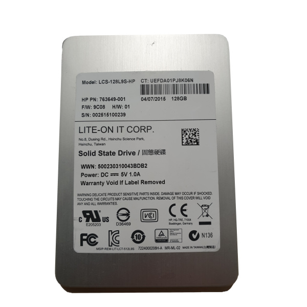 Lite-on IT Corp. SSD   128GB