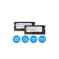 Bürorechner24.de 8GB Kit DDR4 SODIMM Laptop-RAM | 2 x 4GB | PC4-19200 | 2400MHz 1RX8 | NON ECC | 1,2V