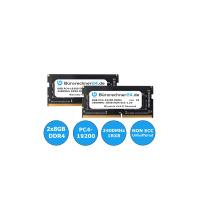 Bürorechner24.de 16GB Kit DDR4 SODIMM Laptop-RAM | 2 x 8GB | PC4-19200 | 2400MHz 1RX8 | NON ECC | 1,2V