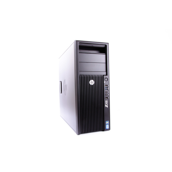 HP Workstation Z420 Intel Xeon E5-1650v2 3.50GHz 32GB RAM NVIDIA Quadro 4000 500GB SSD+1TB HDD B-Grade