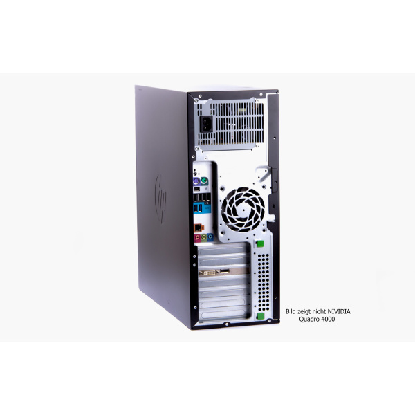 HP Workstation Z420 | Intel Xeon E5-1650v2 3.50GHz | 32GB RAM | NVIDIA Quadro 4000 | 500GB SSD+1TB HDD | B-Grade
