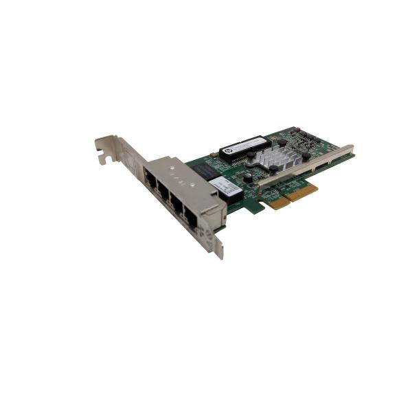 HP Quad Port RJ45 Ethernet Server Adapter 331T PCI-E Gen 2 X4 P/N 649871-001