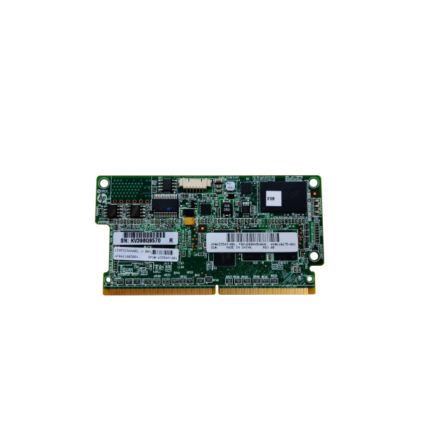 HP 2 GB Flash Backed Write Cache (FBWC) Modul Für P222, P420, P420i, P421, P430, P431, P822, P830 Controller P/N 633543-001
