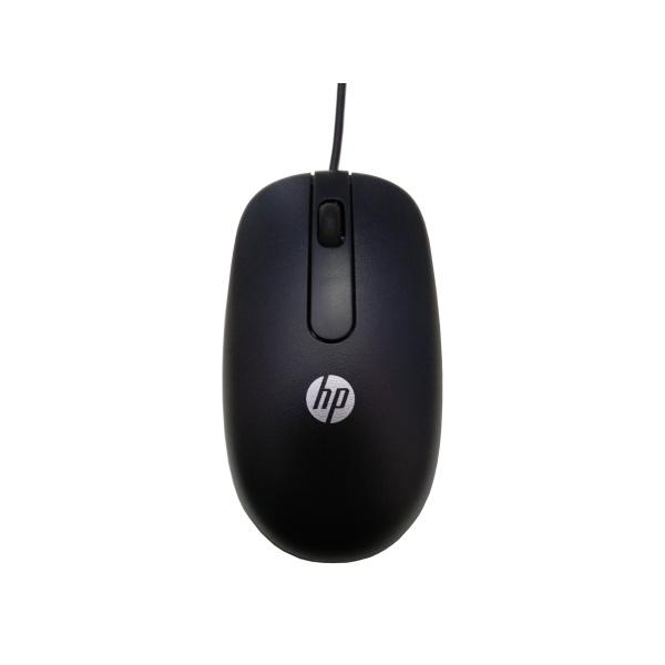 HP Optische Maus   Kabelgebunden   Schwarz